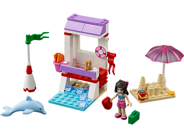 Explore product details and fan reviews for buildable toy Emma's Lifeguard Post 41028 from Friends. Buy today with The Official LEGO® Shop Guarantee.