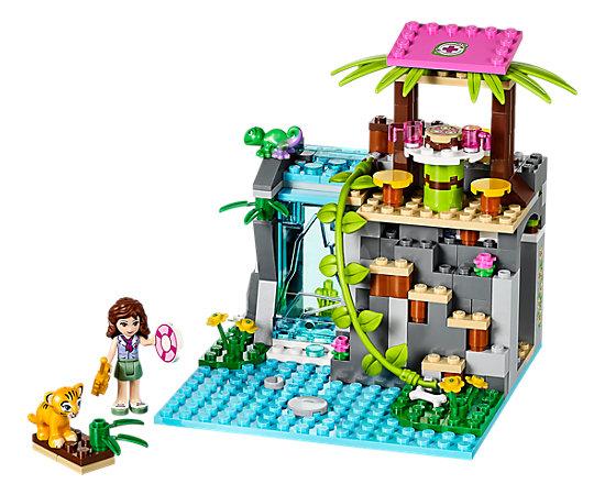 jungle falls rescue 41033 friends lego shop. Black Bedroom Furniture Sets. Home Design Ideas