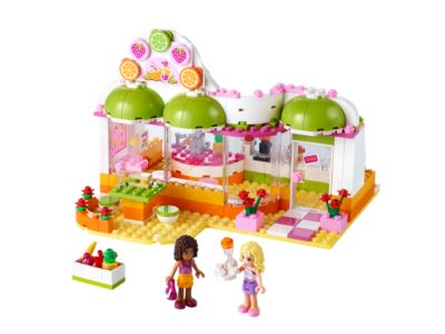Explore product details and fan reviews for buildable toy Heartlake Juice Bar 41035 from Friends. Buy today with The Official LEGO® Shop Guarantee.