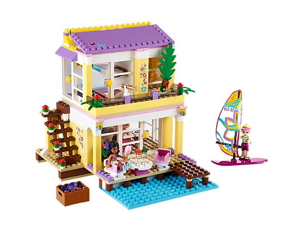Explore product details and fan reviews for buildable toy Stephanie's Beach House 41037 from Friends. Buy today with The Official LEGO® Shop Guarantee.