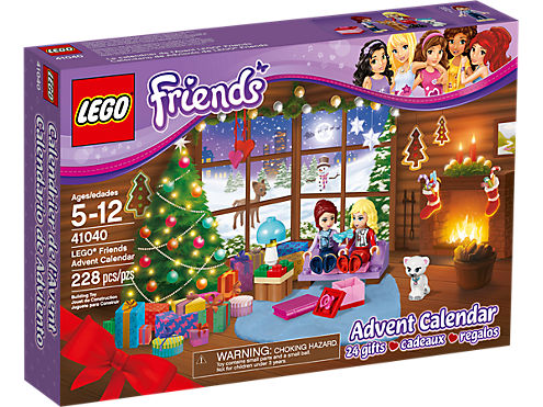 LEGO Friends Advent Calendar  41040  Friends  LEGO Shop