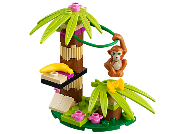 Explore product details and fan reviews for buildable toy Orangutan's Banana Tree 41045 from Friends. Buy today with The Official LEGO® Shop Guarantee.