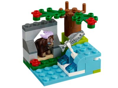 Explore product details and fan reviews for buildable toy Brown Bear's River 41046 from Friends. Buy today with The Official LEGO® Shop Guarantee.