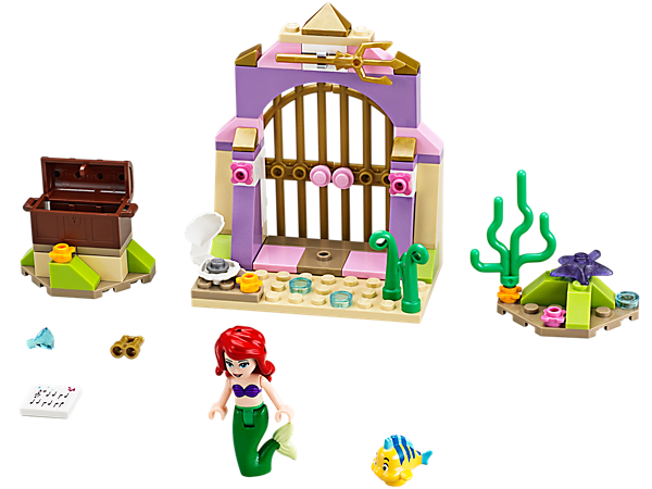 Explore product details and fan reviews for buildable toy Ariel's Amazing Treasures 41050 from Disney Princess. Buy today with The Official LEGO® Shop Guarantee.
