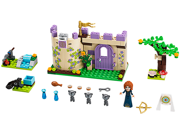 Explore product details and fan reviews for buildable toy Merida's Highland Games 41051 from Disney Princess. Buy today with The Official LEGO® Shop Guarantee.