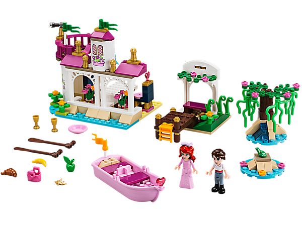 Explore product details and fan reviews for buildable toy Ariel's Magical Kiss 41052 from Disney Princess. Buy today with The Official LEGO® Shop Guarantee.