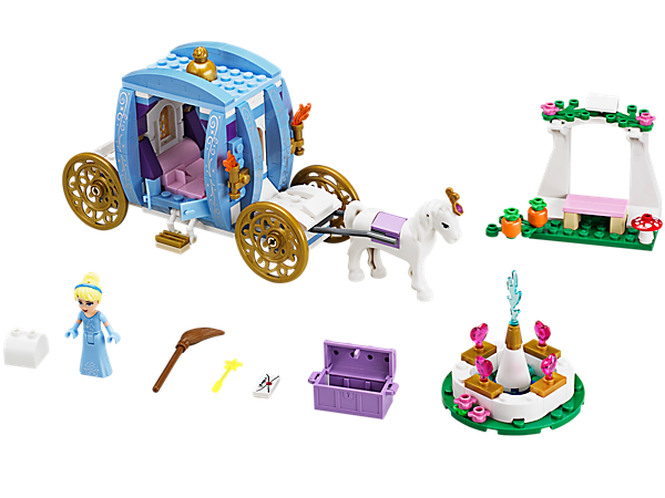 Explore product details and fan reviews for buildable toy Cinderella's Dream Carriage 41053 from Disney Princess. Buy today with The Official LEGO® Shop Guarantee.
