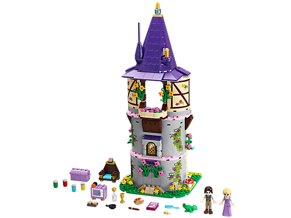 Explore product details and fan reviews for buildable toy Rapunzel's Creativity Tower 41054 from Disney Princess. Buy today with The Official LEGO® Shop Guarantee.