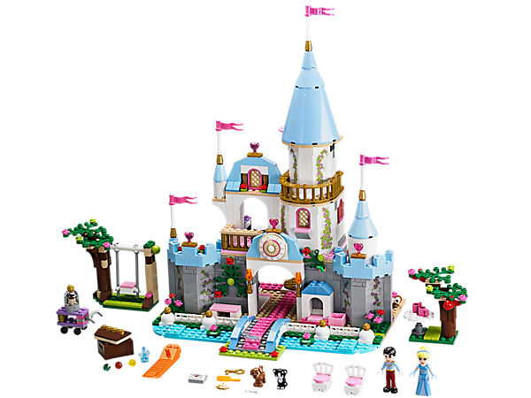 Explore product details and fan reviews for buildable toy Cinderella's Romantic Castle 41055 from Disney Princess. Buy today with The Official LEGO® Shop Guarantee.