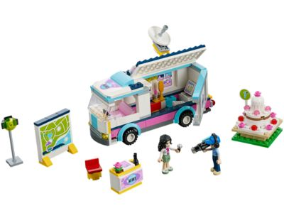 Explore product details and fan reviews for buildable toy Heartlake News Van 41056 from Friends. Buy today with The Official LEGO® Shop Guarantee.
