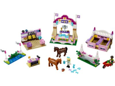 Explore product details and fan reviews for buildable toy Heartlake Horse Show 41057 from Friends. Buy today with The Official LEGO® Shop Guarantee.