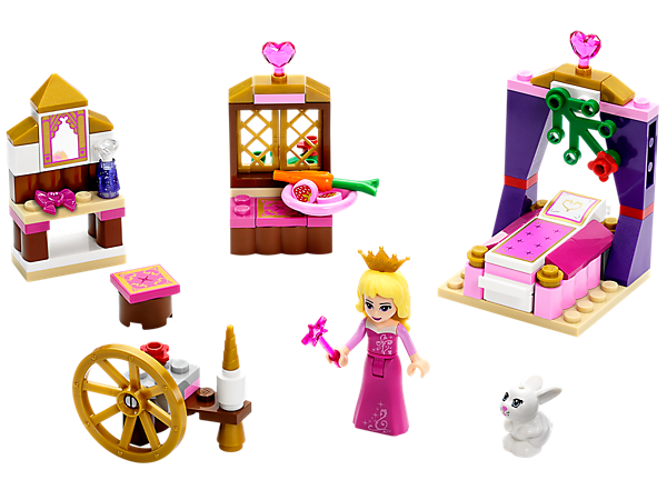 <p>Explore product details and fan reviews for Sleeping Beauty's Royal Bedroom 41060 from Disney Princess™. Buy today with The Official LEGO® Shop Guarantee. </p>