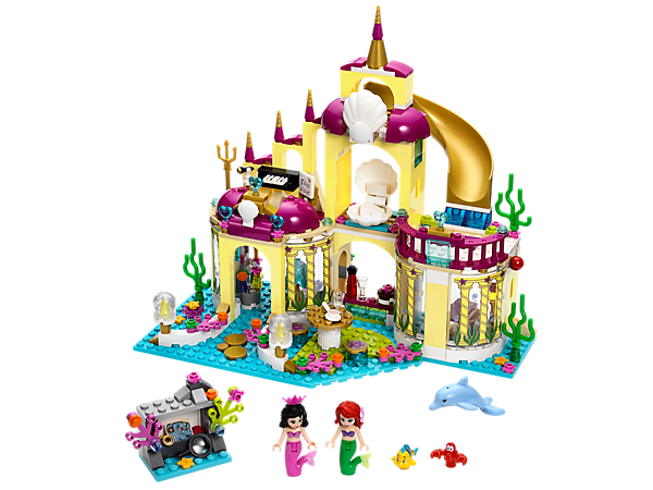 <p>Explore product details and fan reviews for Ariel's Undersea Palace 41063 from Disney Princess™. Buy today with The Official LEGO® Shop Guarantee. </p>