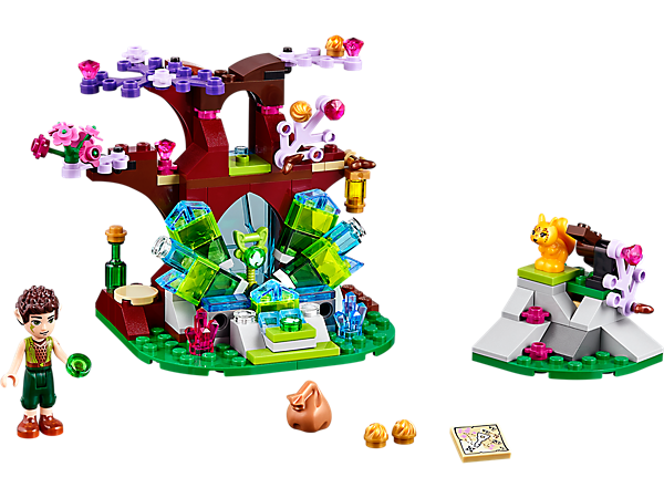 <p>Find the earth key with LEGO® Elves Farran and the Crystal Hollow, including mini-doll, squirrel, catapult and exploding crystals function.</p>