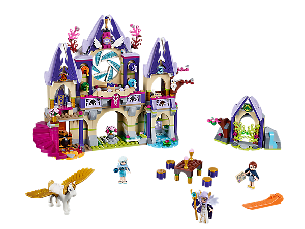 Explore product details and fan reviews for Skyra's Mysterious Sky Castle 41078 from Elves. Buy today with The Official LEGO® Shop Guarantee.