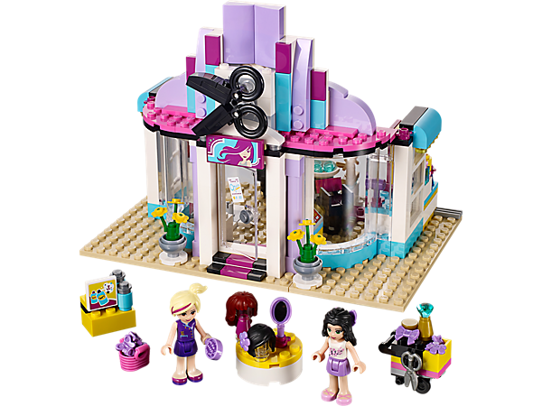 <p>Explore product details and fan reviews for Heartlake Hair Salon 41093 from Friends. Buy today with The Official LEGO® Shop Guarantee. </p>