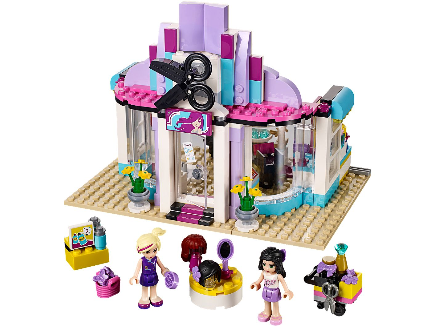 Heartlake Hair Salon 41093 Friends Lego Shop