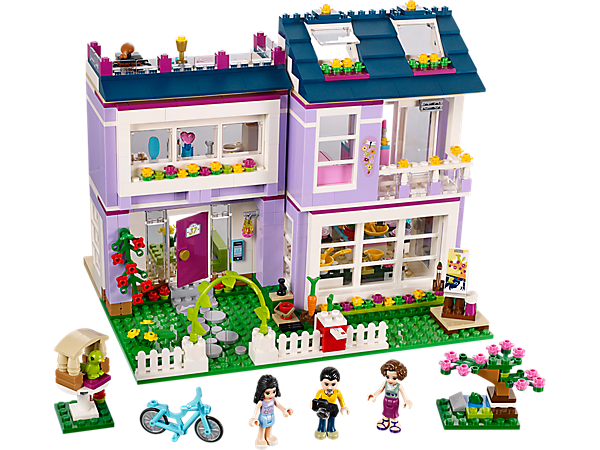 <p>Explore product details and fan reviews for Emma's House 41095 from Friends. Buy today with The Official LEGO® Shop Guarantee.</p>