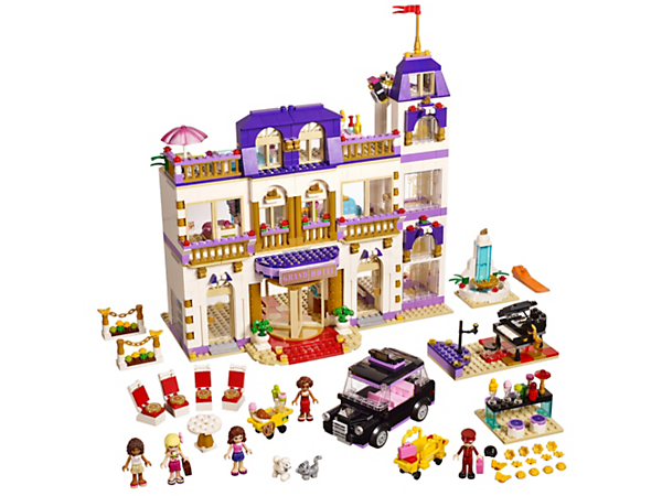 Explore product details and fan reviews for Heartlake Grand Hotel 41101 from Friends. Buy today with The Official LEGO® Shop Guarantee.