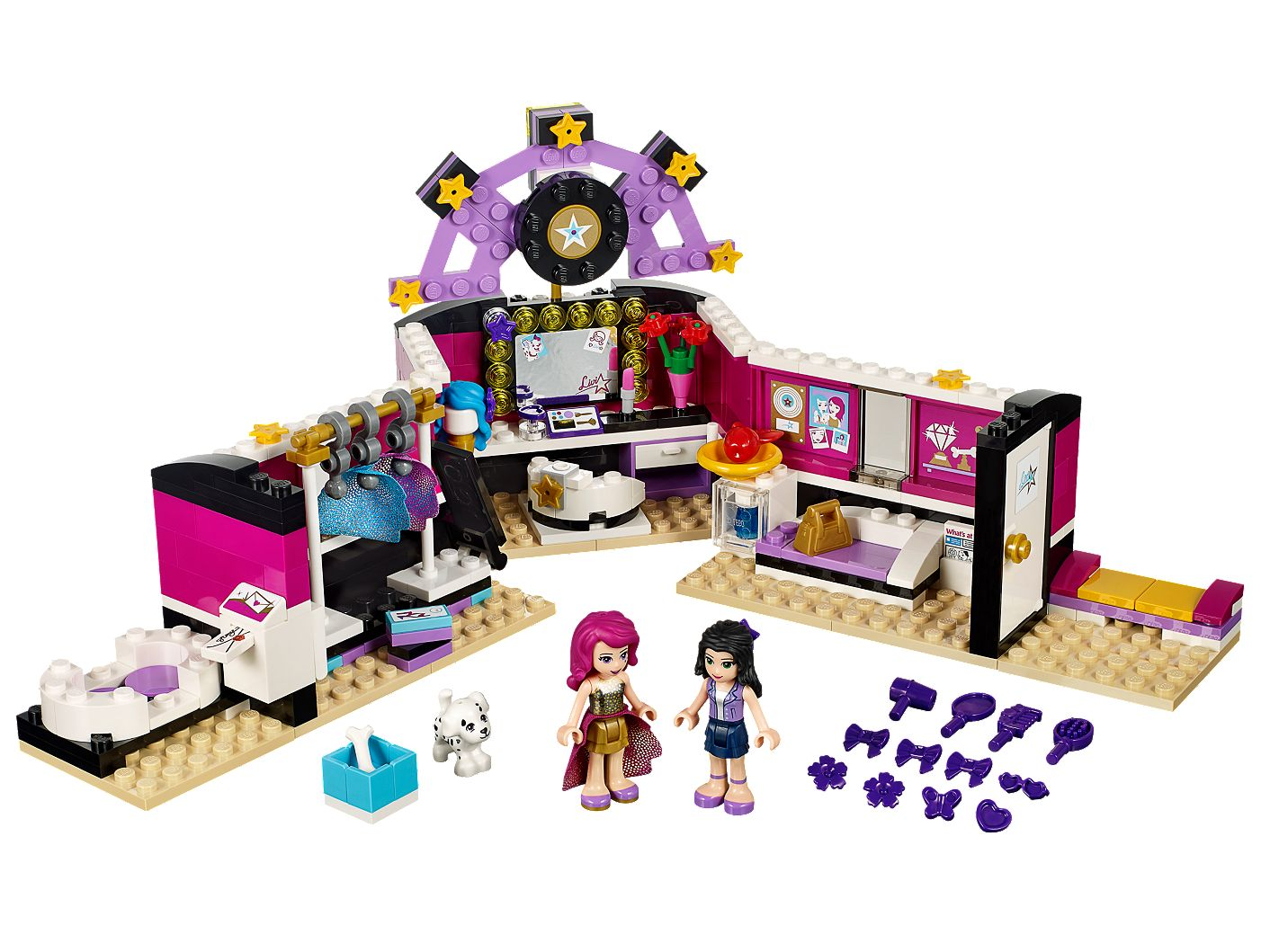 Pop Star Dressing Room 41104 Friends Lego Shop