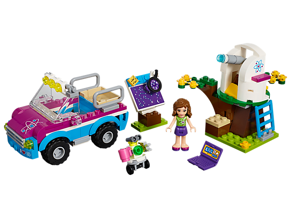 Explore product details and fan reviews for Olivia's Exploration Car 41116 from Friends. Buy today with The Official LEGO® Shop Guarantee.