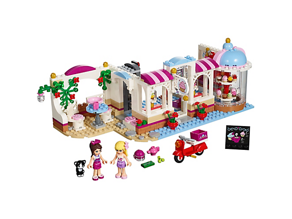 Explore product details and fan reviews for Heartlake Cupcake Café 41119 from Friends. Buy today with The Official LEGO® Shop Guarantee.