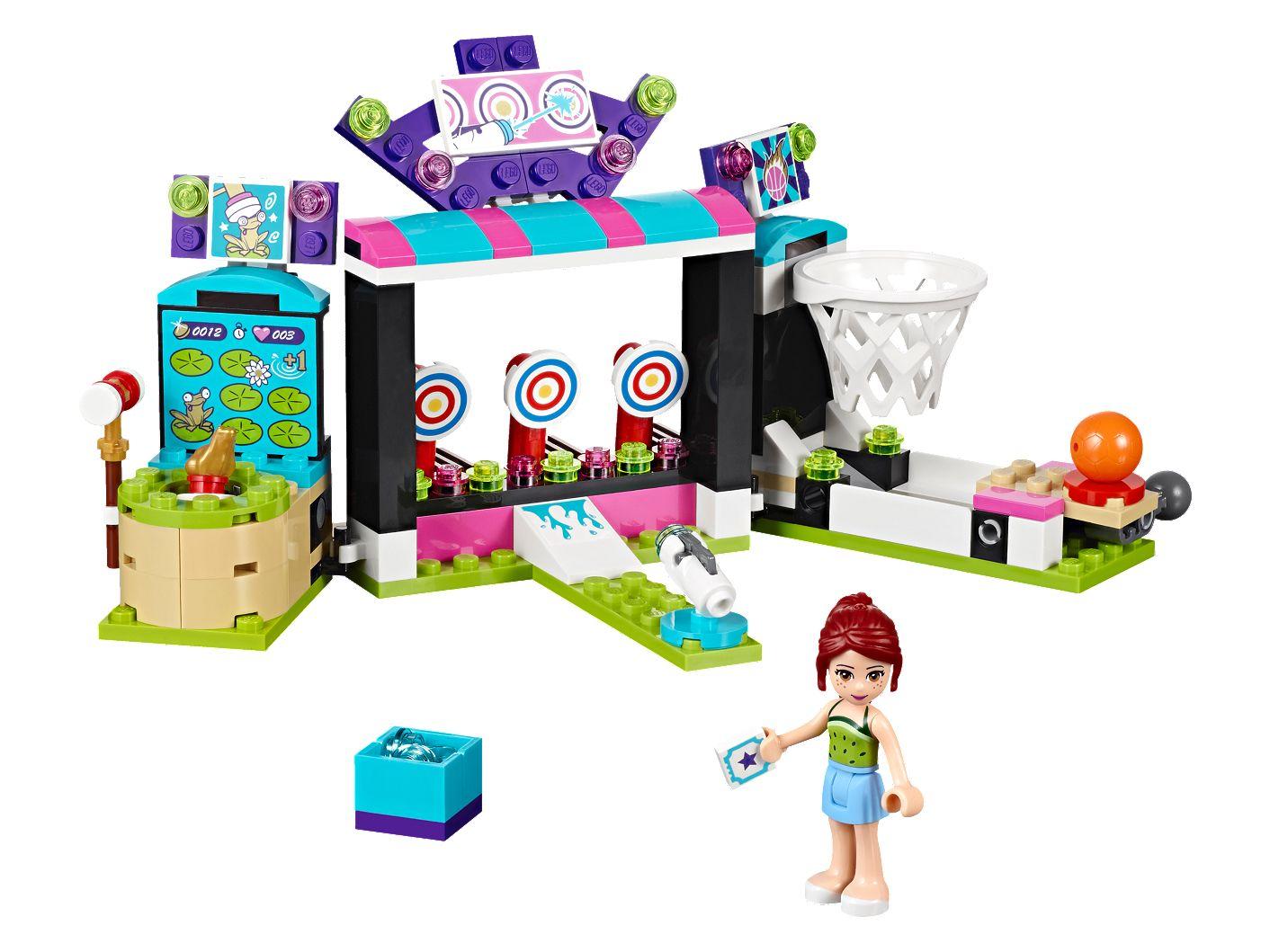 Automaty W Parku Rozrywki 41127 Friends Lego Shop