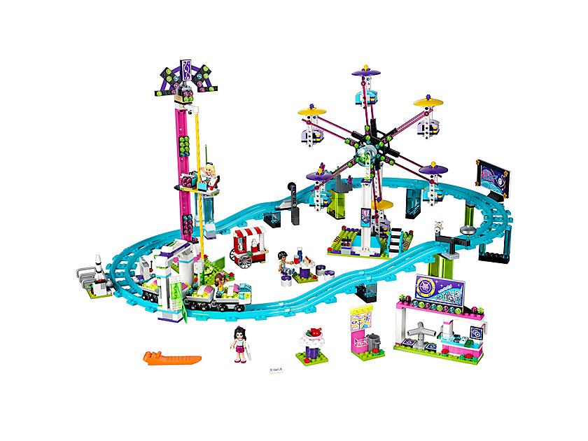 Lego Amusement Park Roller Coaster