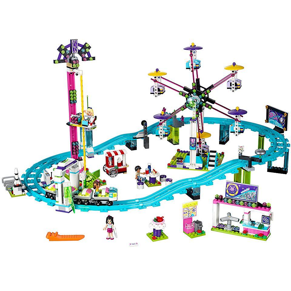 Kolejka Górska W Parku Rozrywki 41130 Friends Lego Shop