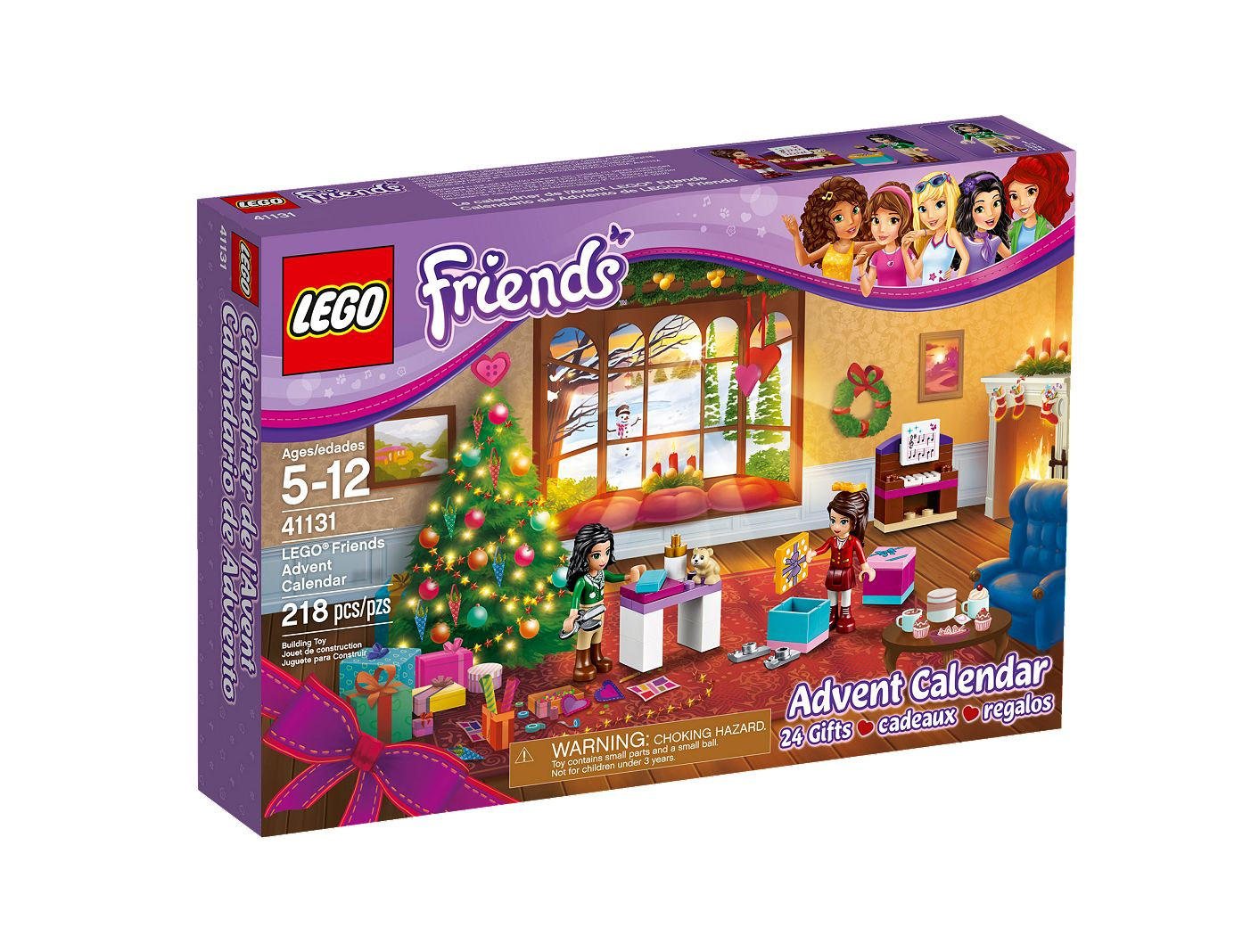 Lego Friends Christmas Sets.Lego Friends Advent Calendar 41131 Friends Buy Online At The Official Lego Shop Gb