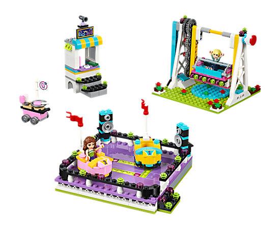 Amusement Park Bumper Cars - 41133   Friends   LEGO Shop