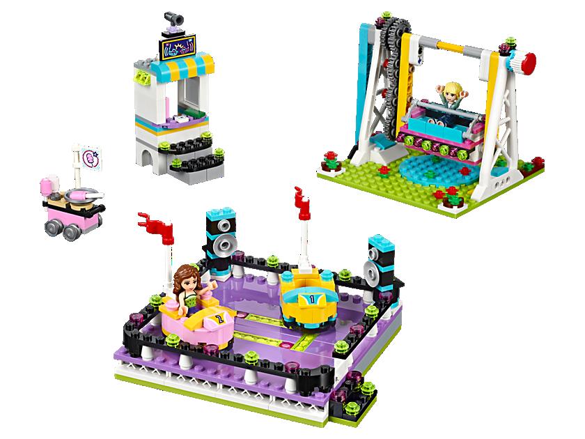 Lego Amusement Park Bumper Cars
