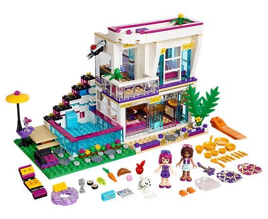la maison de la pop star livi 41135 friends lego shop. Black Bedroom Furniture Sets. Home Design Ideas