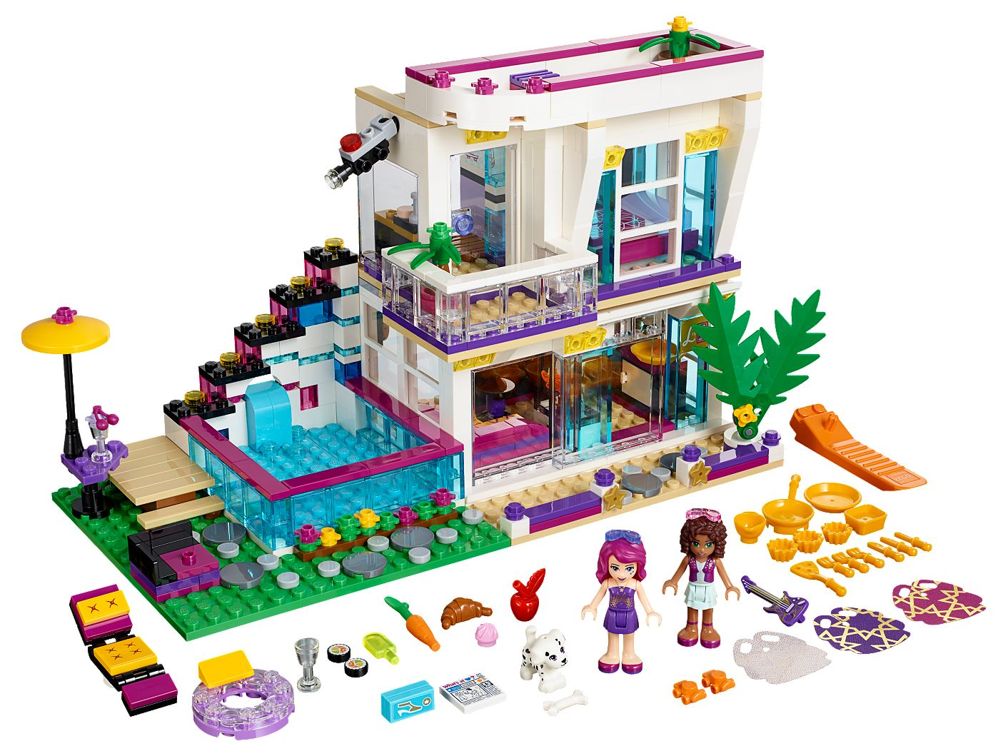 Dom Gwiazdy Pop Livi 41135 Friends Lego Shop