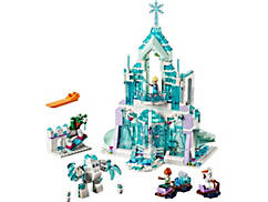 Le palais des glaces magique d'Elsa