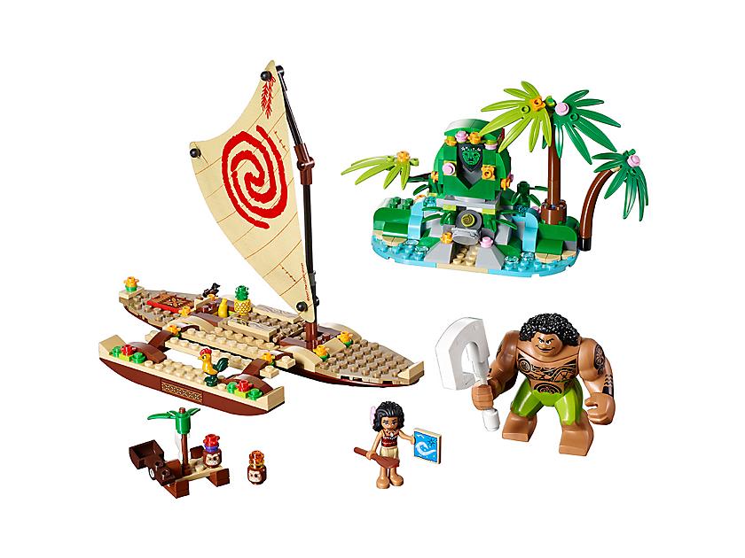 Lego Moana S Ocean Voyage