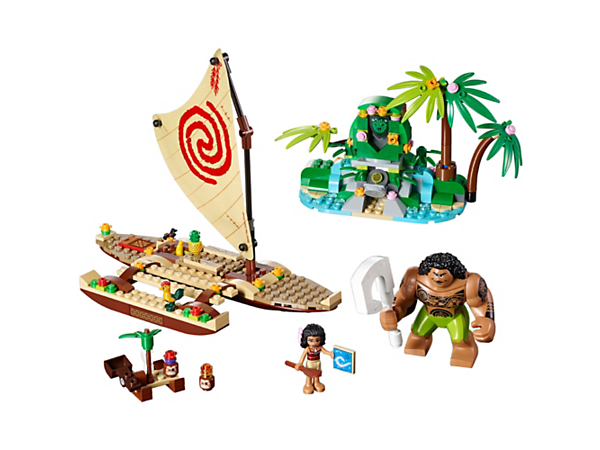 Sail with Vaiana, her very strong friend Maui and Heihei the rooster, and use the transformation function to restore harmony to the island.