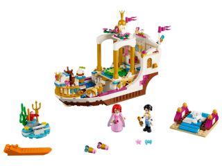Arielles königliches Hochzeitsboot