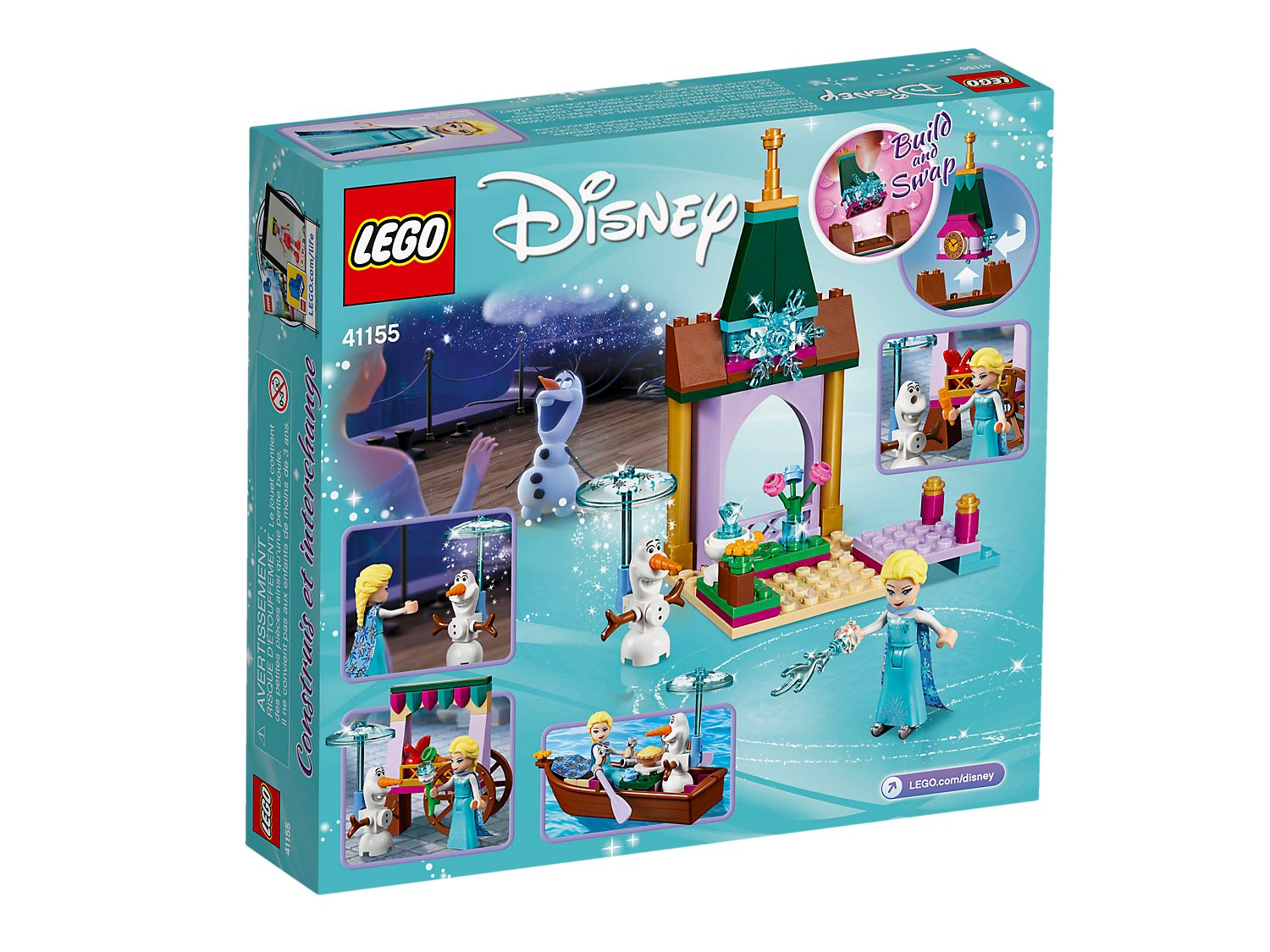. 41155 l Disney Frozen Elsa's Market Adventure Toy for Girls and B.. LEGO UK