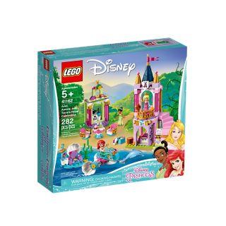 Ariel, Aurora och Tianas kungliga firande