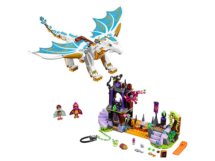 Lego Queen Dragon's Rescue