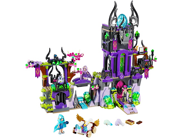 Help Naida and Aira capture the Elf Witch Ragana and save Estari the baby Princess dragon from the castle tower! With 3 mini-doll figures, plus Estari and Jynx.