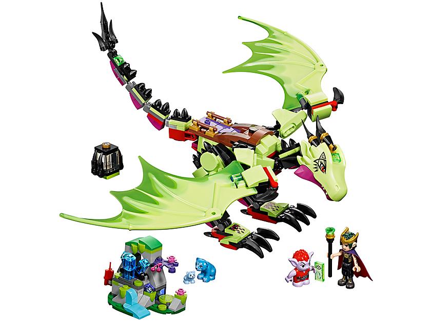 Le dragon maléfique du roi des Gobelins