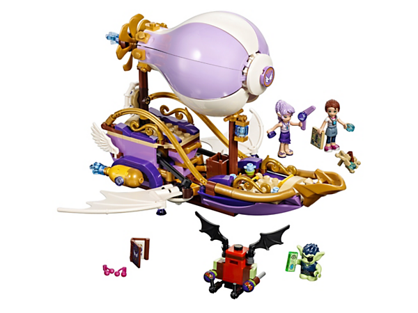 <p>Cruise with Aira and Emily Jones as they chase after Emily's stolen amulet in Aira's airship, plus a goblin glider with seed shooters, a goblin and two mini-doll figures.</p>