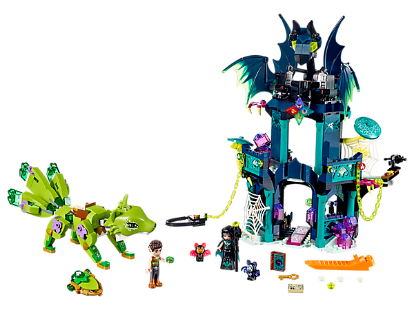 <p>Recover the Elemental diamonds and restore balance to Elvendale! Set features a 2-level tower, buildable Guardian Earth Fox figure, 2 mini-doll figures, plus spider and 2 bat figures.</p>