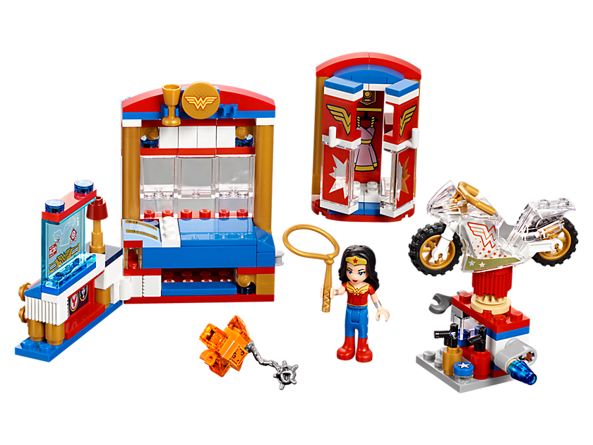 Geeky Mother's Day Gifts: LEGO Wonder Woman Dorm