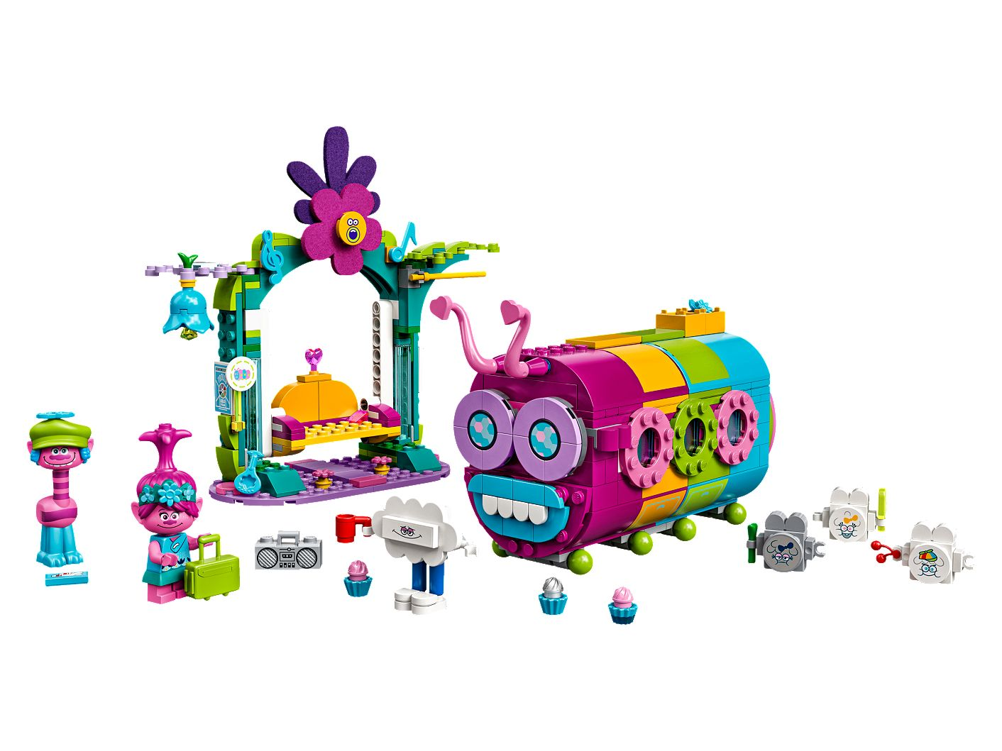 Rainbow Caterbus 41256 Trolls World Tour Buy Online At The