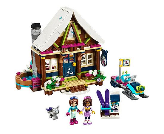 snow resort chalet 41323 friends lego shop. Black Bedroom Furniture Sets. Home Design Ideas