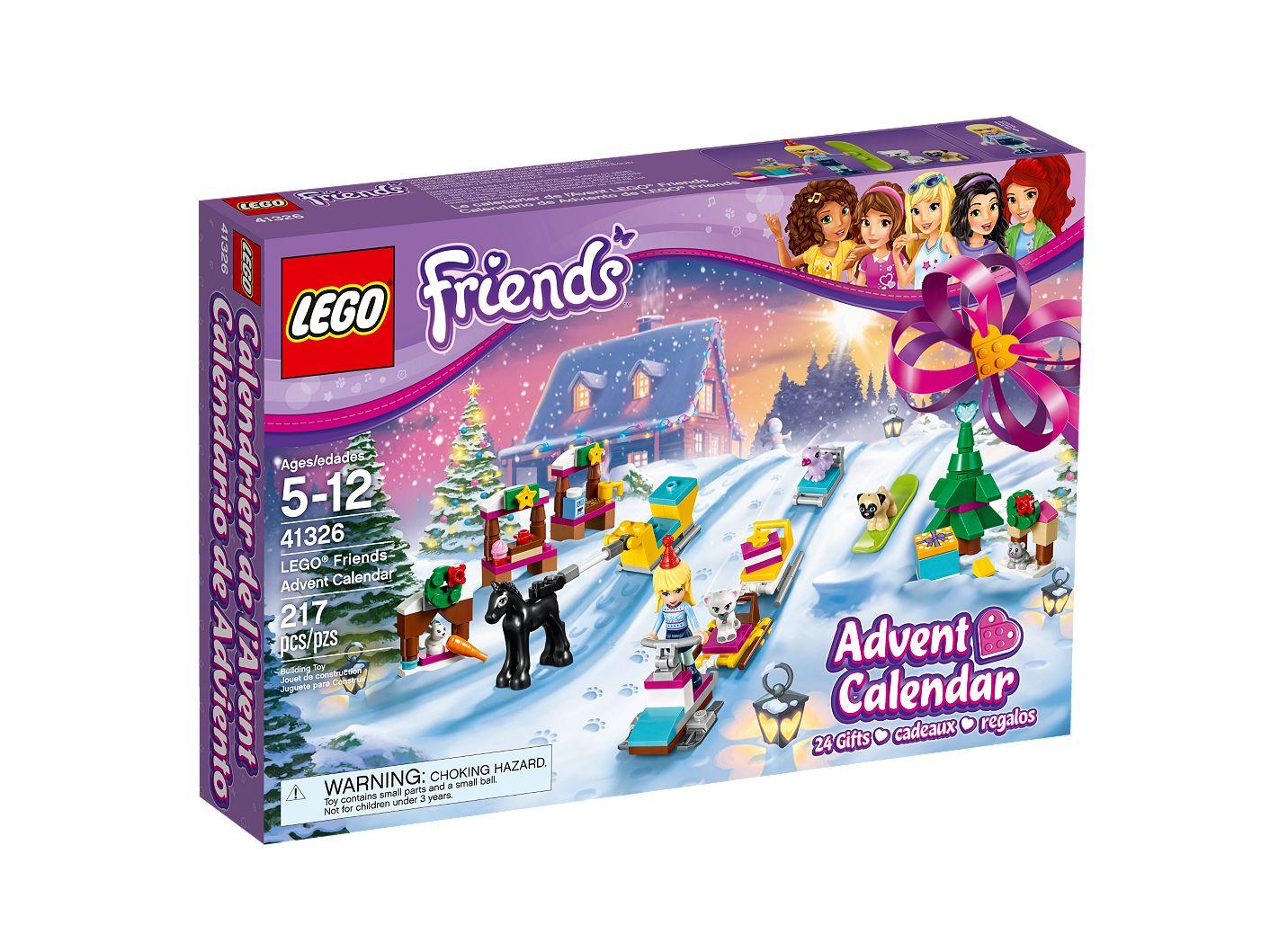 Calendrier Avent Duplo.Le Calendrier De L Avent Lego Friends 41326 Friends Boutique Lego Officielle Fr
