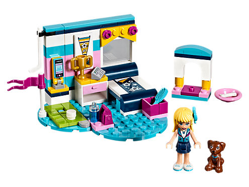 Stephanies Bedroom 41328 Friends Lego Shop